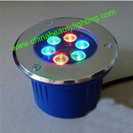 304 Stainless Steel IP67 RGB LED Underground/ LED Inground Light