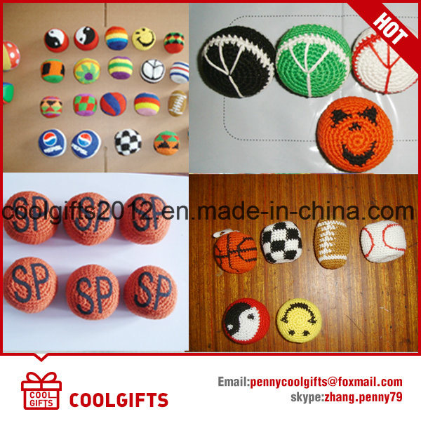 Hacky Sack, Kick Ball, Knitted Ball, Footbag, Bean Ball