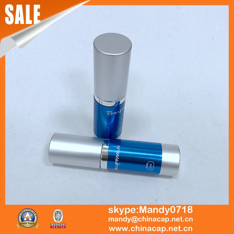 15g 30g 50g Matte Silver Airless Bottle Vacuum Pump Bottles