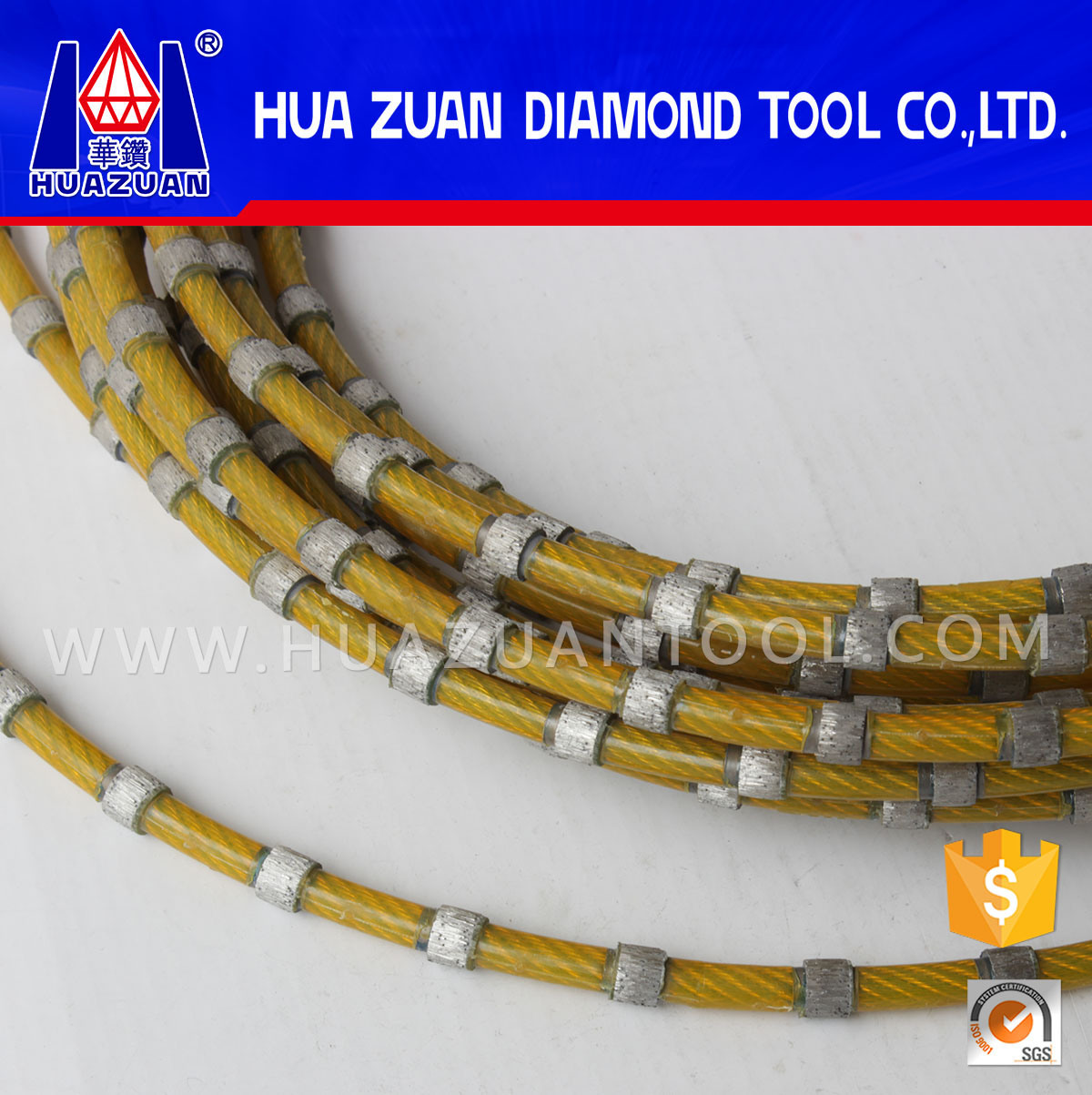 Diamond Wire Saw for Cutting Granite
