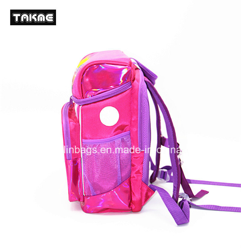 Bucket Shape Cartoon Bag for Kids School Bag