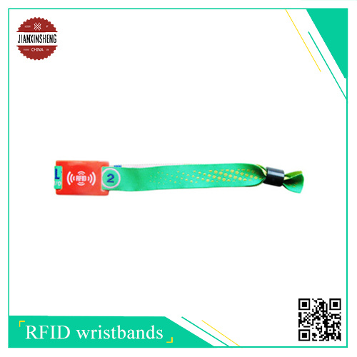 Sublimation Satin Band with Hard RFID PVC Label