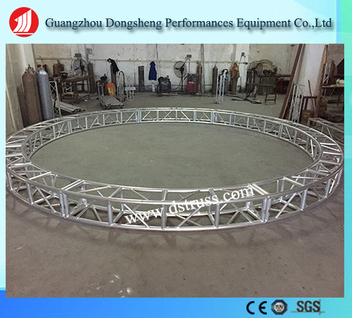 Horizontal Circle Truss for Performance