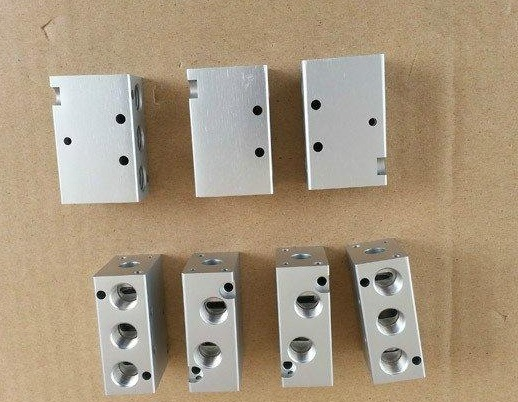 CNC Turning Aluminum Part