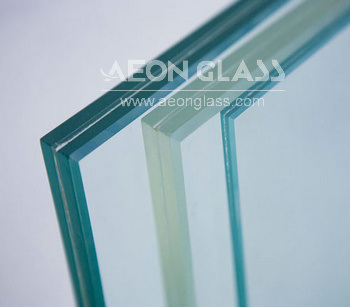 6.38mm-30mm, CE & ISO Certificate, Laminated Glass