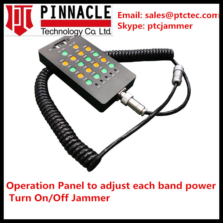 Portable Jammer, Cell Phone Jammer, All-in-One Signal Jammer, Internal Antennas Jammer