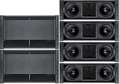 Professional Line Array Speaker PRO Audio (W-210A&W-250A)