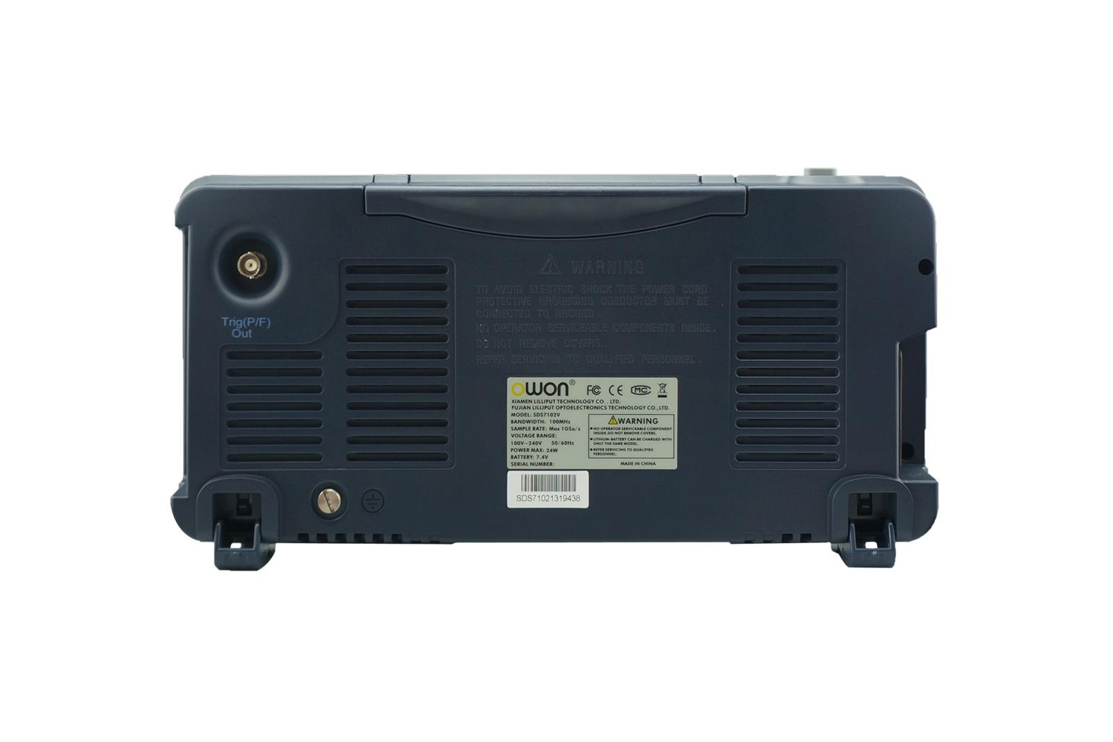 OWON 100MHz 1GS/s Deep Memory Digital Oscilloscope (SDS7102)