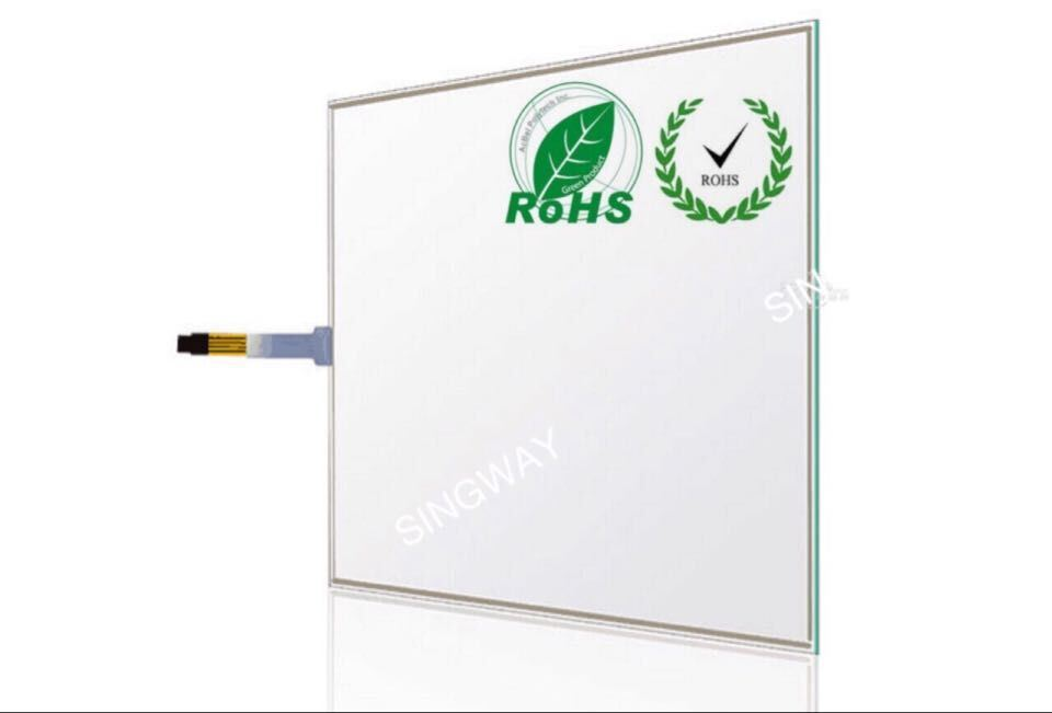 15 Inch 4 Wires F+G Resistive Screen