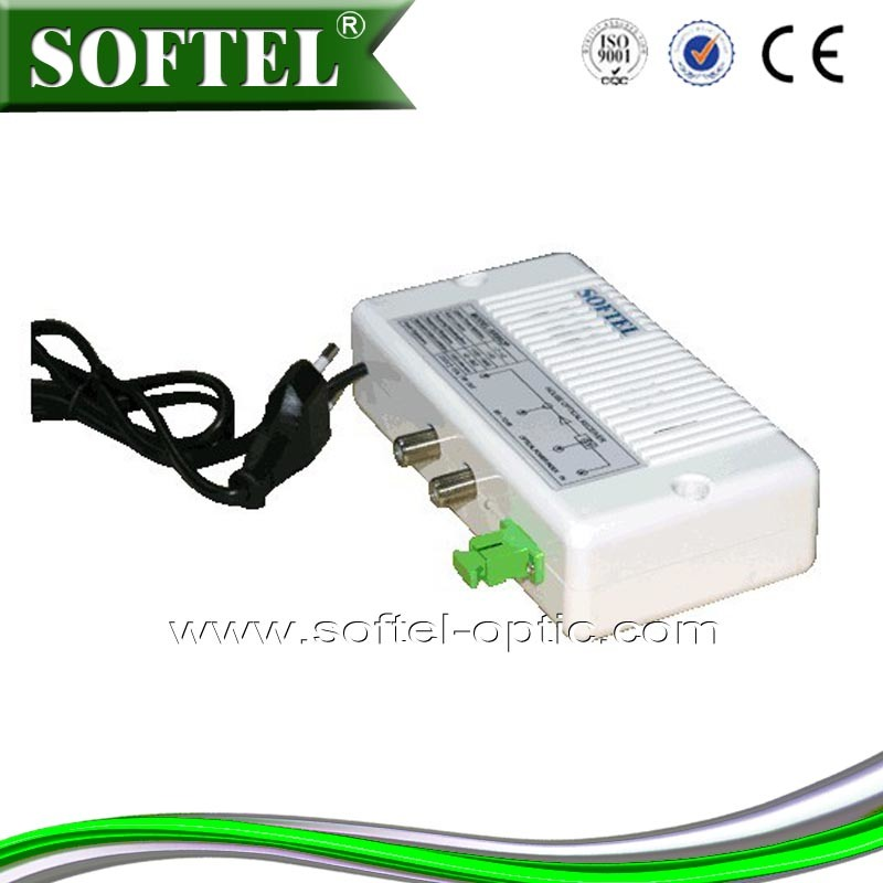 FTTH Indoor 2 Output Mini Optical Receiver/Node