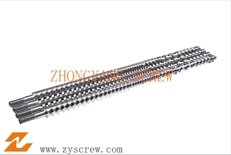 High Output PVC Parallel Twin Screw and Barrel Extruder