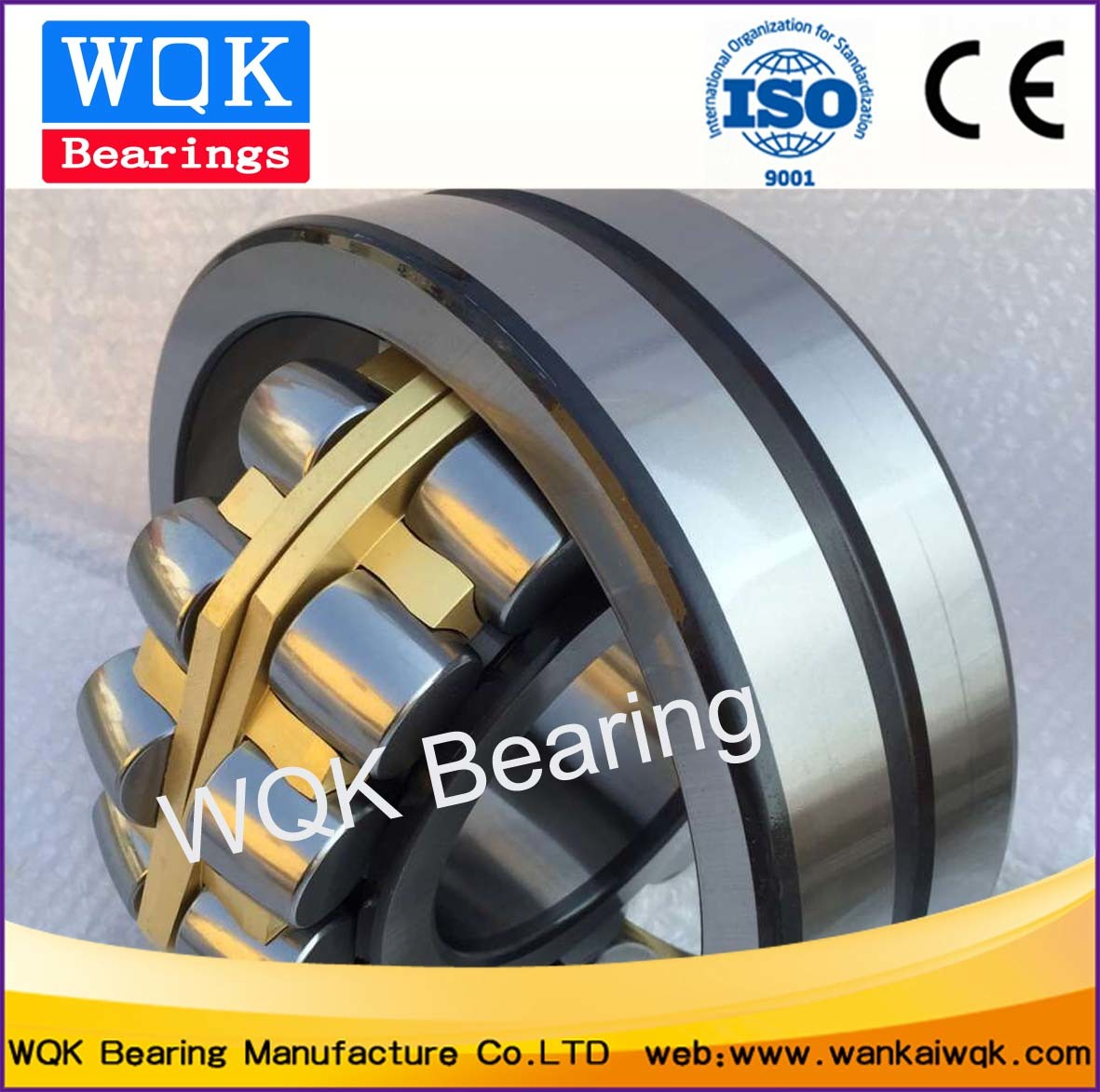 Wqk Bearing 22322 MB Va405 Spherical Roller Bearing Use in Vibration Screen