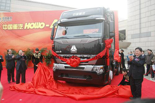 HOWO A7 4X2 Driving Tractor Truck