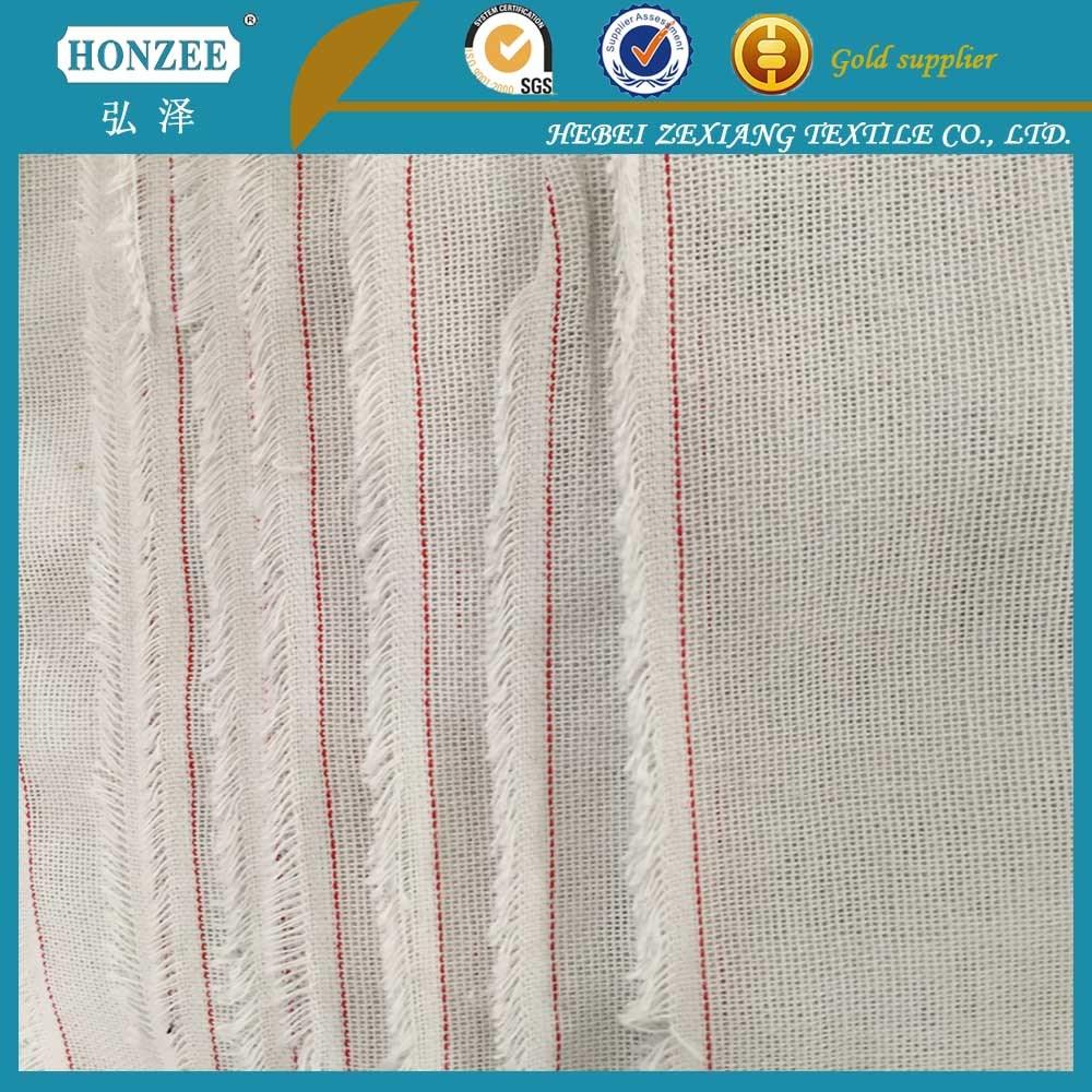 100% Cotton Shirt Collar Interlinig Printed Lining Fabric