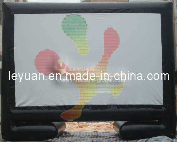 Good Quality Outdoor Inflatable Movie Screen, Inflatable Advertising Billboard for Sale En14960