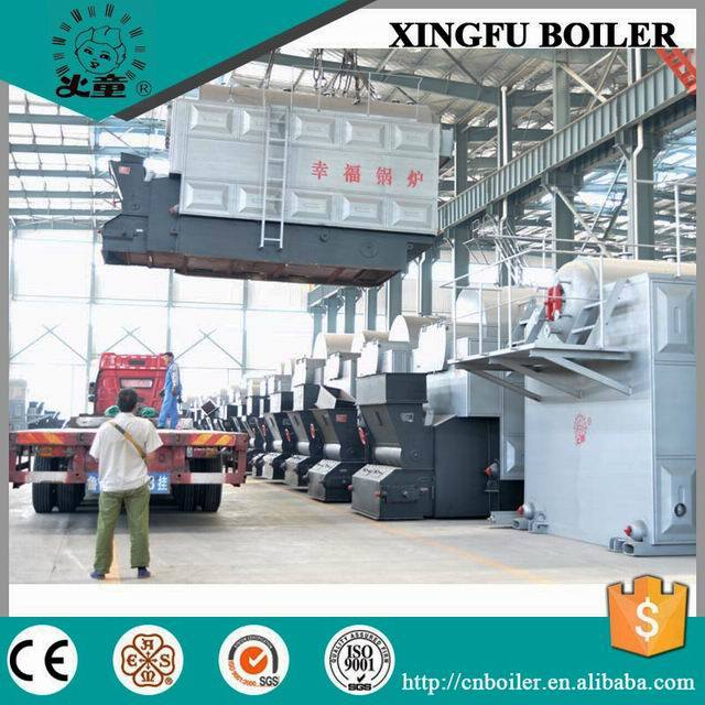 80% Thermal Efficiency1 Coal and Wood Fired Steam Boiler