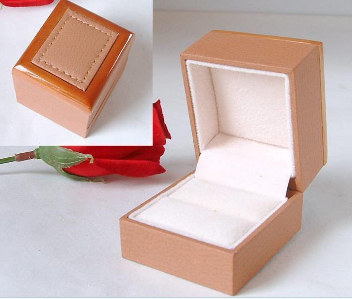 PU Leather Jewelry Storage Box Jewelry Pack Gift Box (Ys1252)