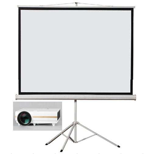 Tripod Projector Screen Tripod Projection Screen