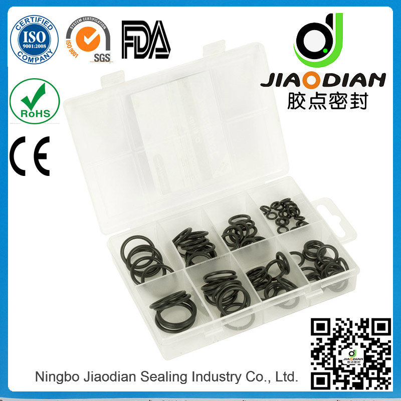 O Ring Kits with SGS RoHS FDA Certificates As568 Standard (KITS-SEAL-0005)