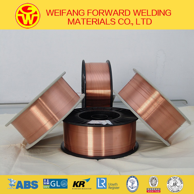 1.6mm 15kg/Plastic Spool Er70s-6 CO2 Gas Shielded Welding Wire MIG Welding Wire with ISO9001: 2008