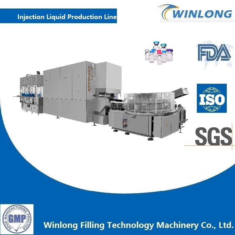 Injectable Vial Filling Line
