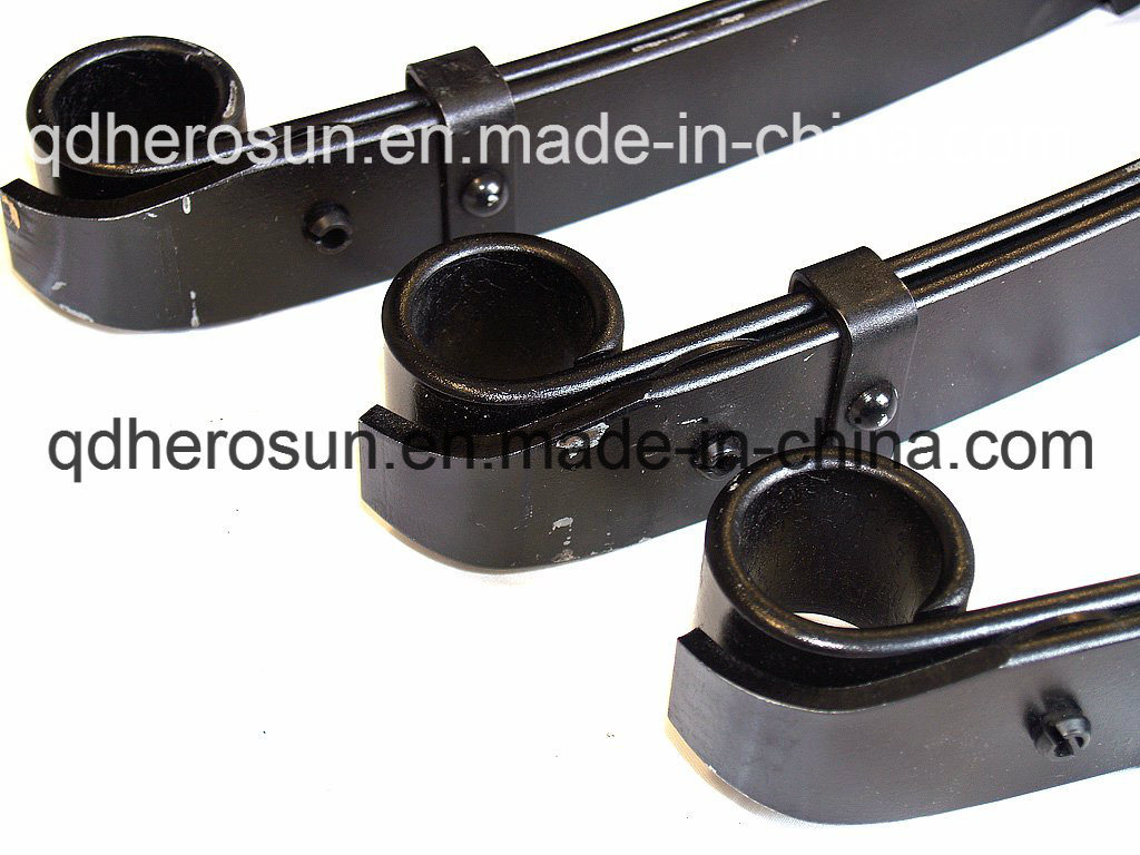 Trailer Leaf Springs with Round Plastic Pad