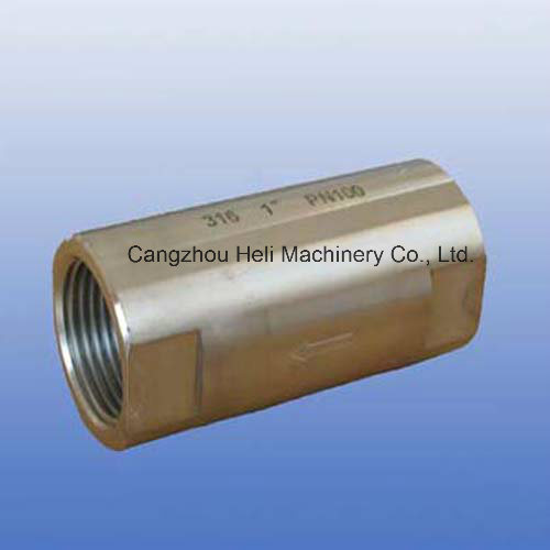 Stainless steel 316 Check Valve by Bar 1000psi