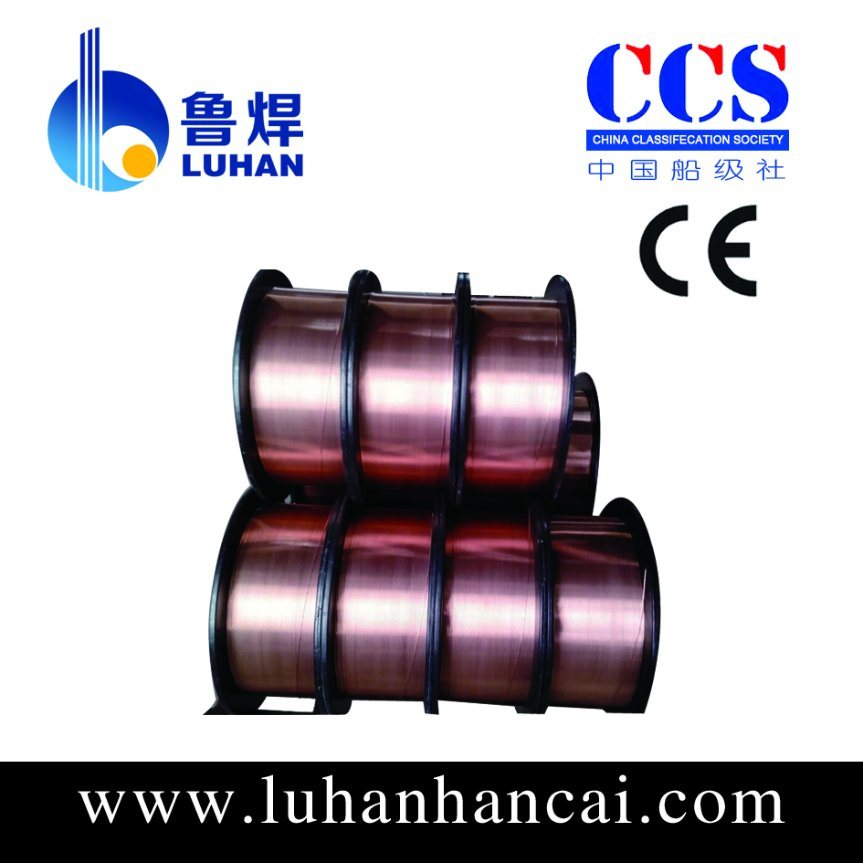 Ce Cetificated Submerged Arc Welding Wire (EM12K)