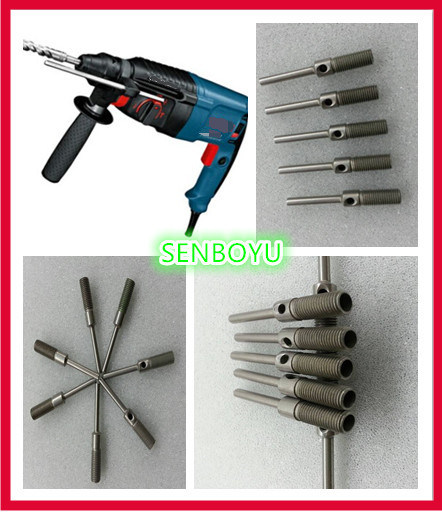 CNC Machining Custom Stainless Iron Shaft for Electric Tools (P001)