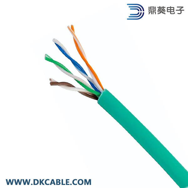 LAN Cable UTP Cat5e 4pairs 24AWG