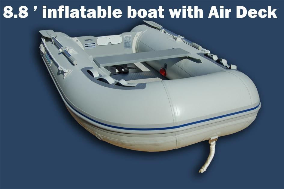 Inflatable Fishing Boats With An Electric Motor All Boats
