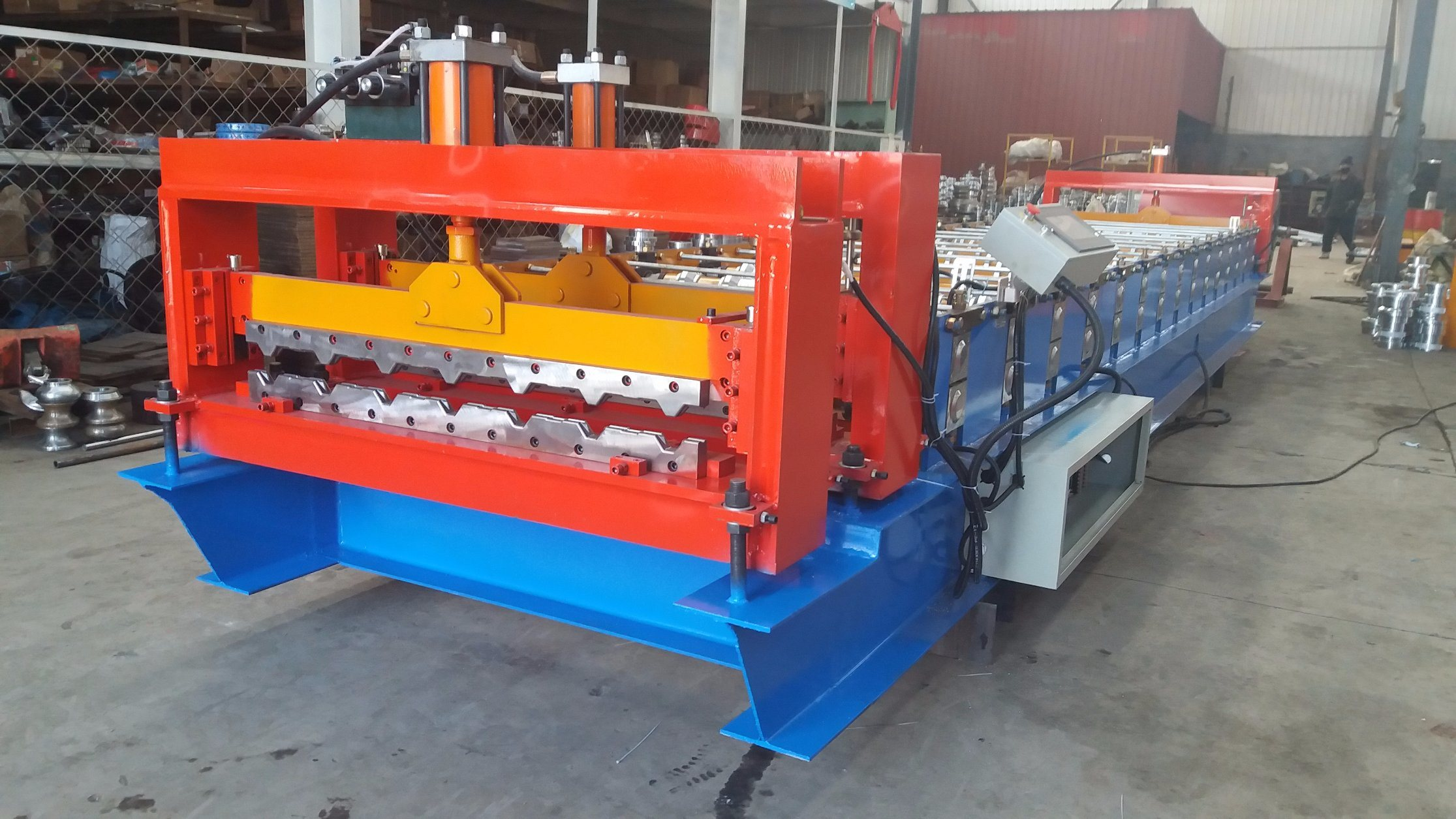 Arching and Roofing Integration Roll Forming Machine Crimping Machine