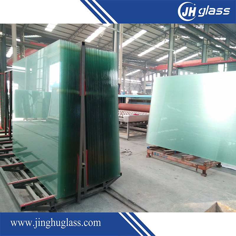6.38-13.52mm Clear or Colored Tempered Safety Laminated Glass for Architectural Building
