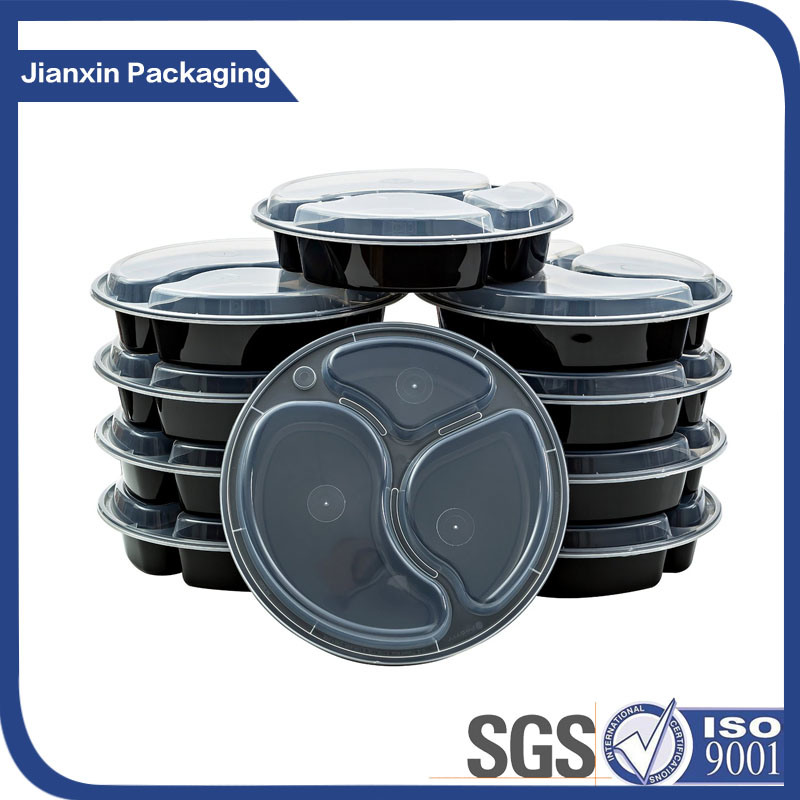 Tableware Recyclable Plastic Lunch Dinner Food Packaging
