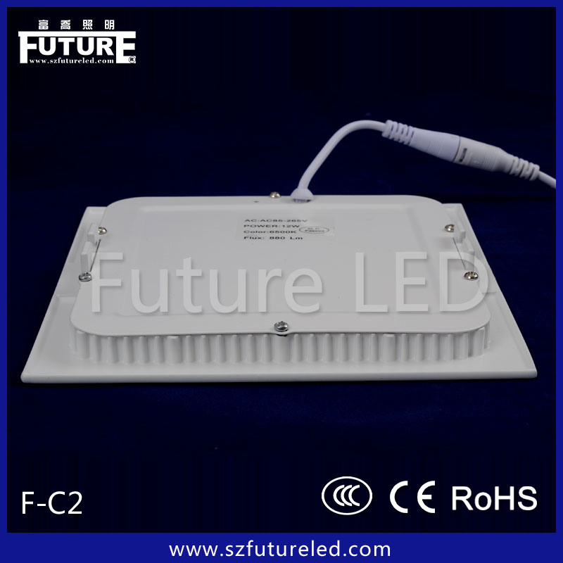 High Efficient Industrial LED Recessed Panel Light 2835 SMD CRI>80