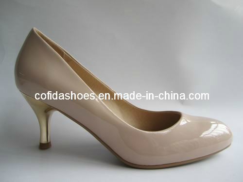 Newest Lady Stylish Leather Shoes
