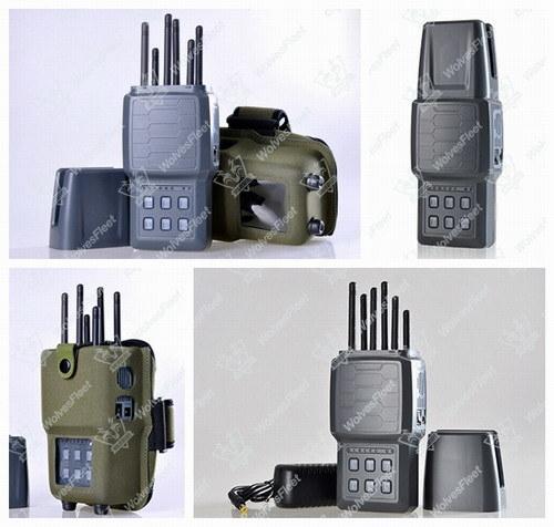 Broadband Jammer 6 Bands Handheld Cell Phone Signal Jammer