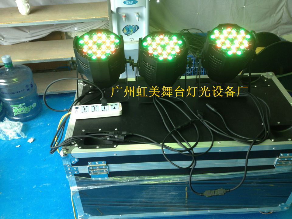 LED Lamp LED 18PCS*10W Aluminum Case 4in1 Full-Color PAR