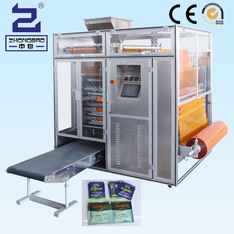 Multilane and High Speed Small Sachet Granule Four-Side Sealing and Filling Packing Machine