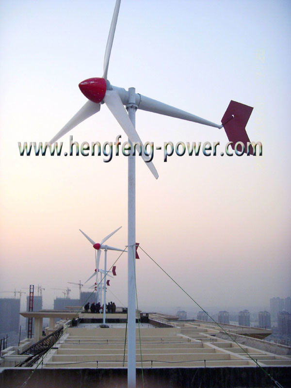 5000w Vertical Axis Wind Generator