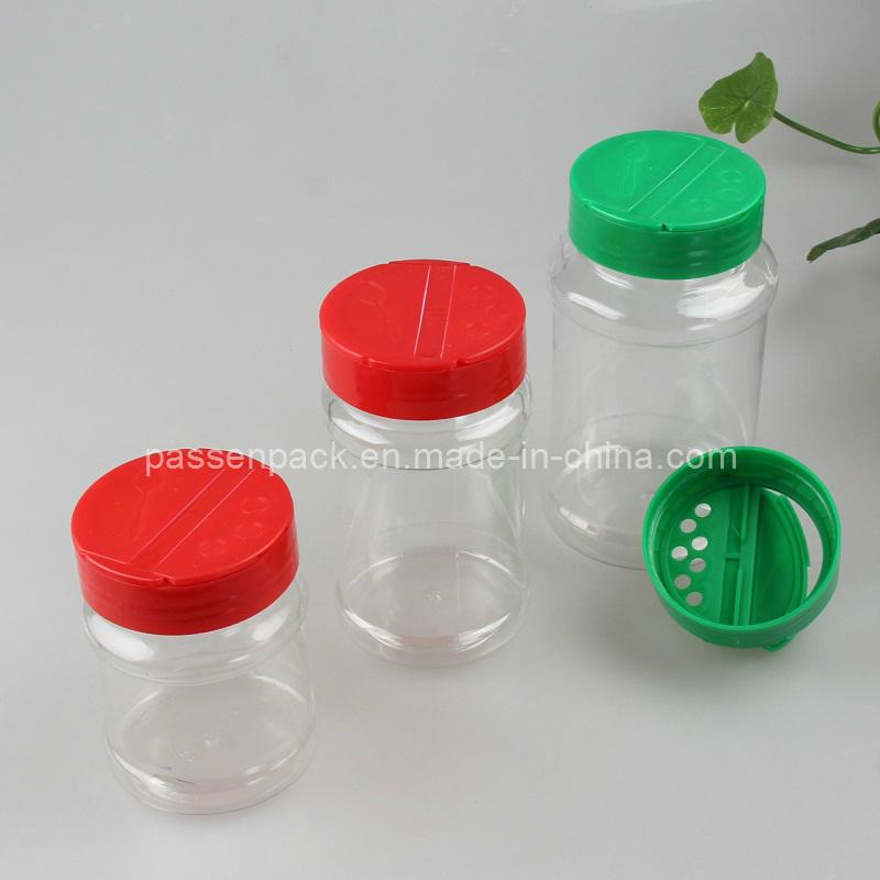 Pet Plastic Kitchen Powder Sauce Bottle with Flip Cap (PPC-PSB-31)