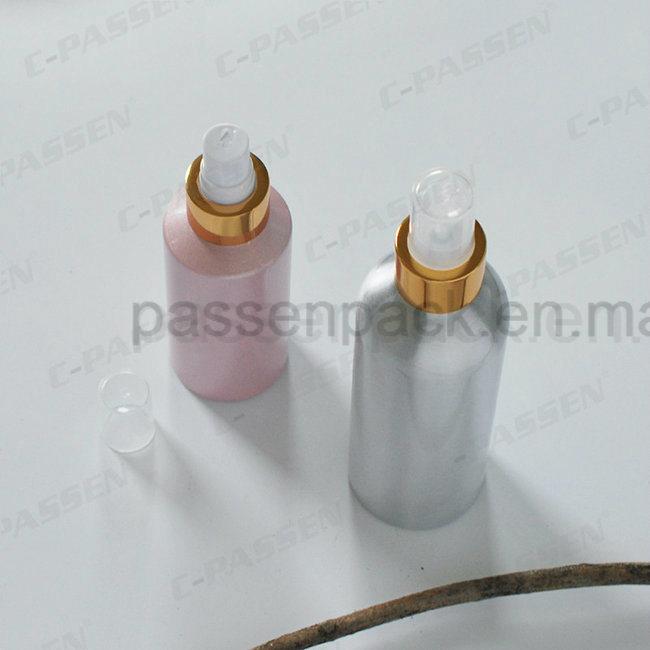 Colored Aluminum Perfume Sprayer Bottle with Spray Pump (PPC-ACB-040)