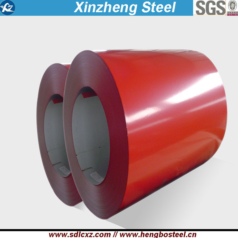 0.14-0.8mm Building Material Galvanized PPGI Color Coated Prepainted Steel Coil