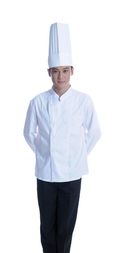 Vestido del cocinero para el restaurante (LSCW009) – Vestido del