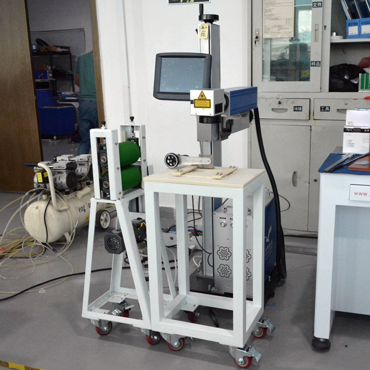 20 Watt Fiber Laser Machine for Marking Plastic Materials