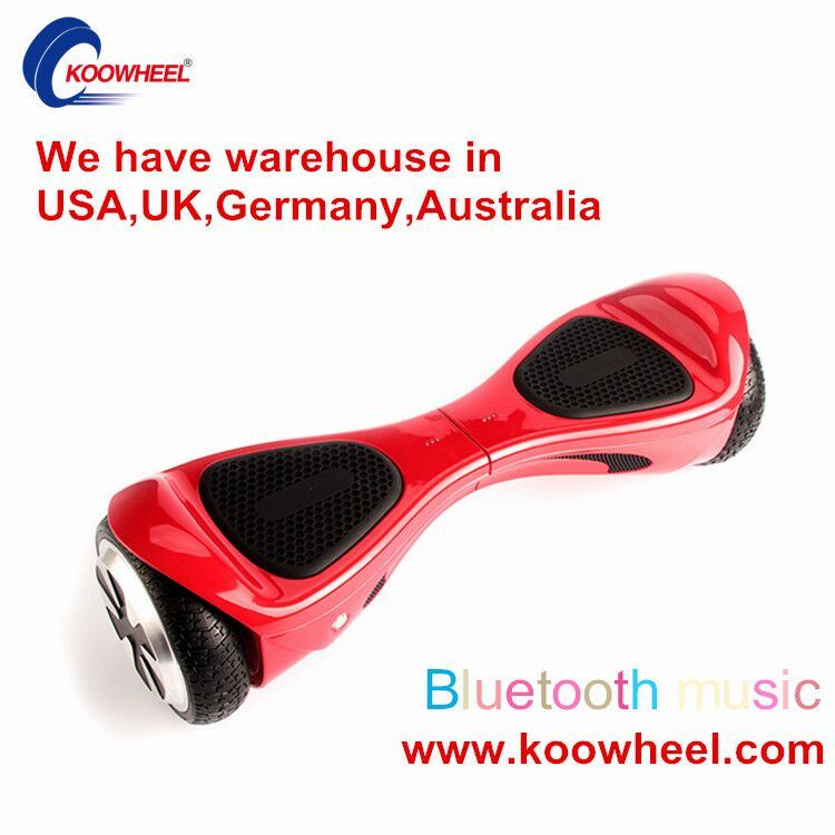 LED Light Two Wheel Smart Self Balance Electric Scooter Hover Board 2 Wheels