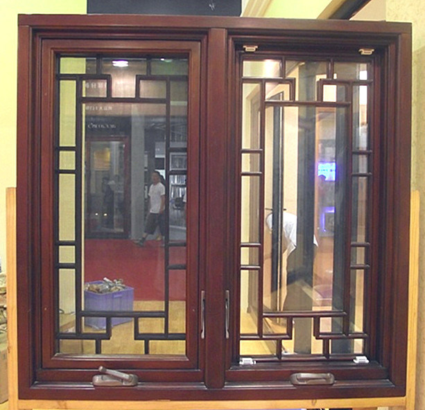 China new design american style hand outward opening for Window frame designs house design
