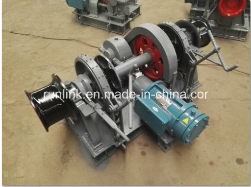 Electric / Hydraulic Single / Double Drum Anchor Windlass