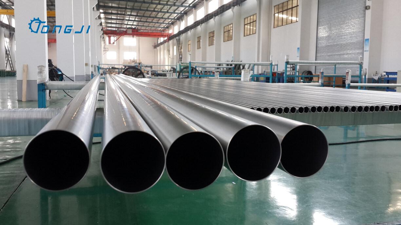The Best Offer Seamless Titanium Pipe ASME Sb861, ASME Sb338