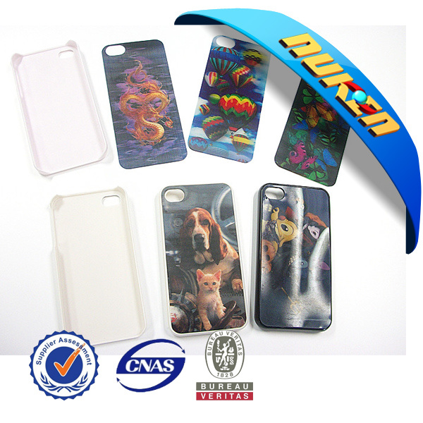 Decorative Custom Design 3D Lenticular Phone Sticker